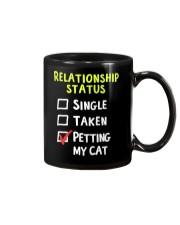 Petting My Cat Mug thumbnail