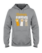 Paw Friends Hooded Sweatshirt front