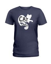 Cat Lady Ladies T-Shirt thumbnail