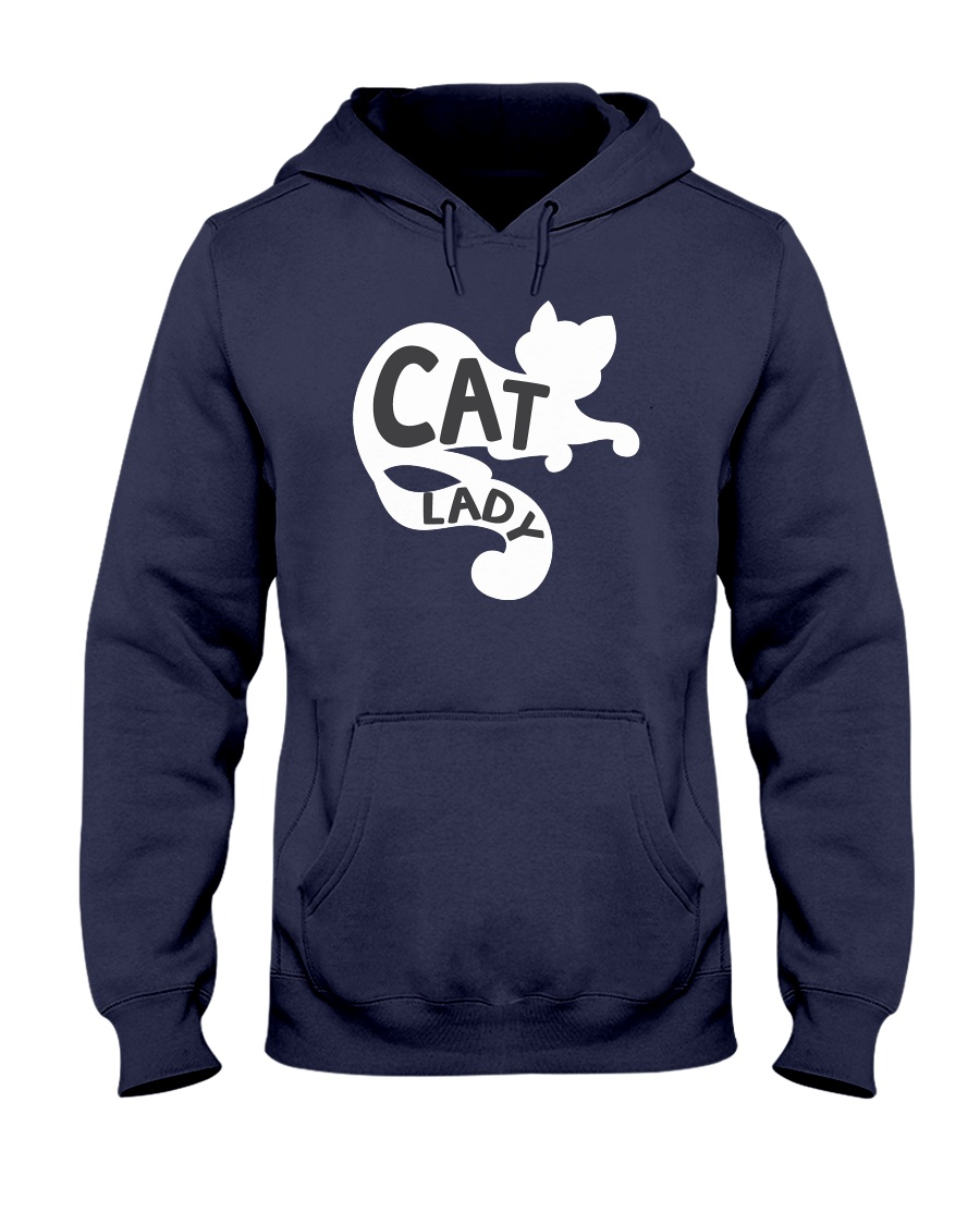 Cat Lady Hooded Sweatshirt
