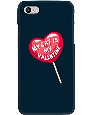 My Cat is my Valentine Phone Case thumbnail