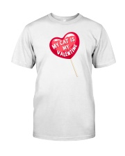 My Cat is my Valentine Premium Fit Mens Tee thumbnail