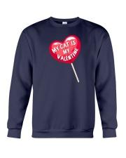 My Cat is my Valentine Crewneck Sweatshirt thumbnail