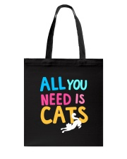All You Need is Cats Tote Bag thumbnail