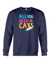 All You Need is Cats Crewneck Sweatshirt thumbnail