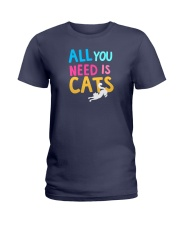 All You Need is Cats Ladies T-Shirt thumbnail
