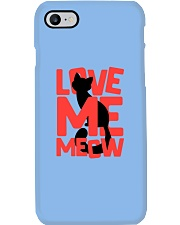 Love Me Meow Phone Case tile