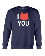 I Cat You Crewneck Sweatshirt thumbnail