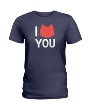 I Cat You Ladies T-Shirt front