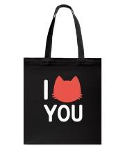 I Cat You Tote Bag thumbnail