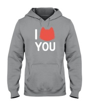 I Cat You Hooded Sweatshirt thumbnail