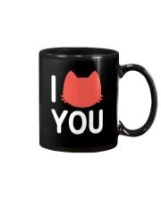 I Cat You Mug thumbnail