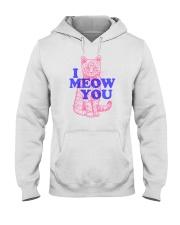 I Meow You Hooded Sweatshirt thumbnail