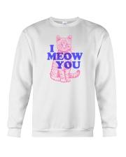 I Meow You Crewneck Sweatshirt thumbnail