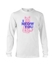 I Meow You Long Sleeve Tee thumbnail
