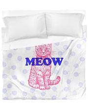 I Meow You Duvet Cover - King thumbnail