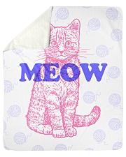 "I Meow You Sherpa Fleece Blanket - 50"" x 60"" thumbnail"