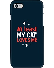 At Least My Cats Loves Me Phone Case thumbnail