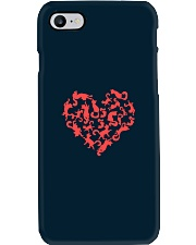 Purry Heart Phone Case tile
