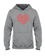Purry Heart Hooded Sweatshirt tile