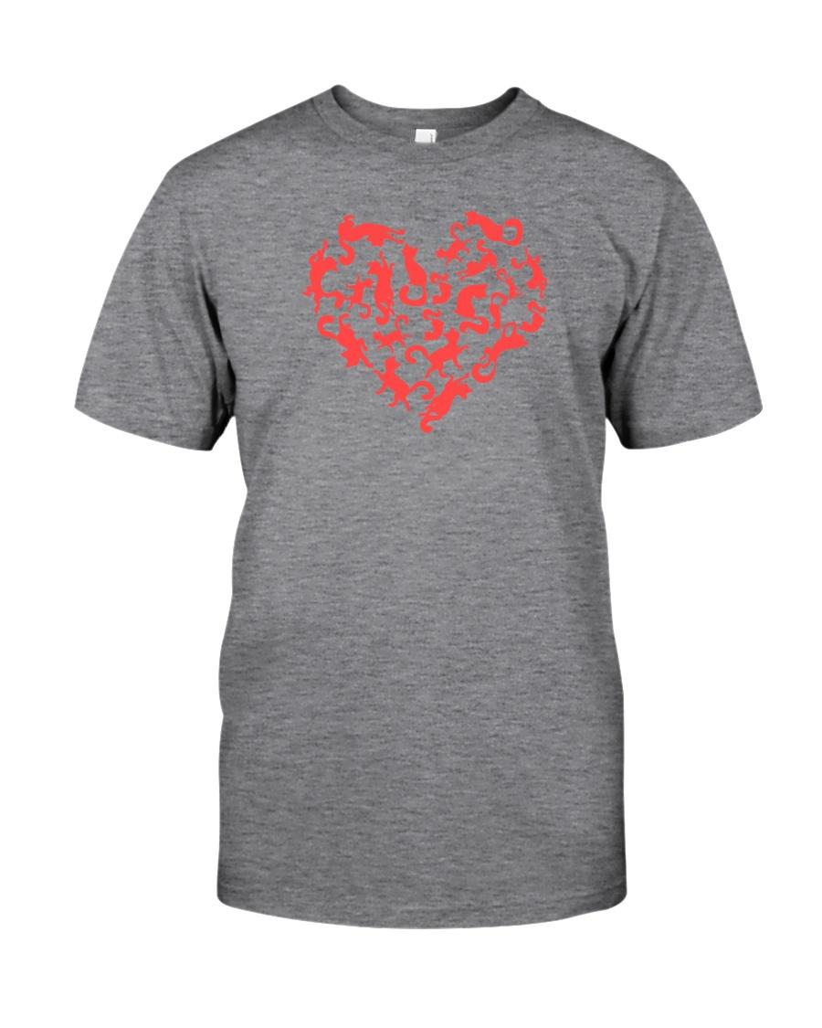 Purry Heart Classic T-Shirt
