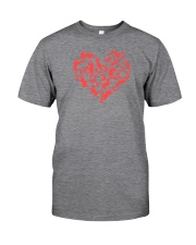 Purry Heart Classic T-Shirt front