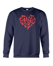 Purry Heart Crewneck Sweatshirt tile