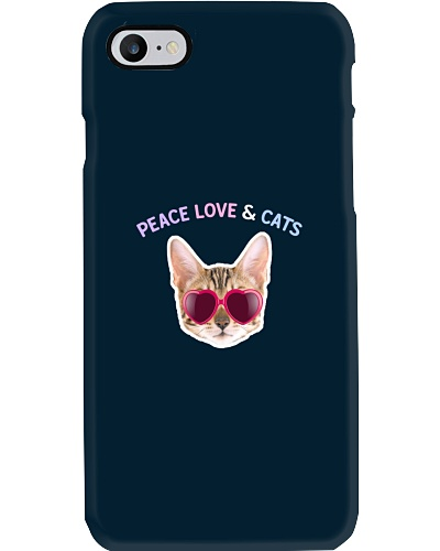Peace Love And Cats