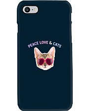 Peace Love And Cats Phone Case thumbnail
