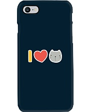 I Love Cats Phone Case tile
