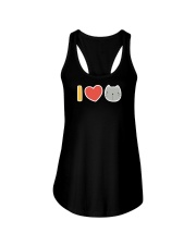 I Love Cats Ladies Flowy Tank tile