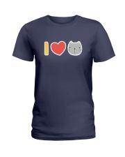 I Love Cats Ladies T-Shirt thumbnail