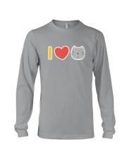 I Love Cats Long Sleeve Tee thumbnail