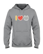 I Love Cats Hooded Sweatshirt thumbnail