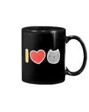 I Love Cats Mug thumbnail