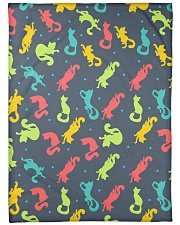 "All Those Cats Large Fleece Blanket - 60"" x 80"" thumbnail"