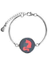 All Those Cats Metallic Circle Bracelet thumbnail