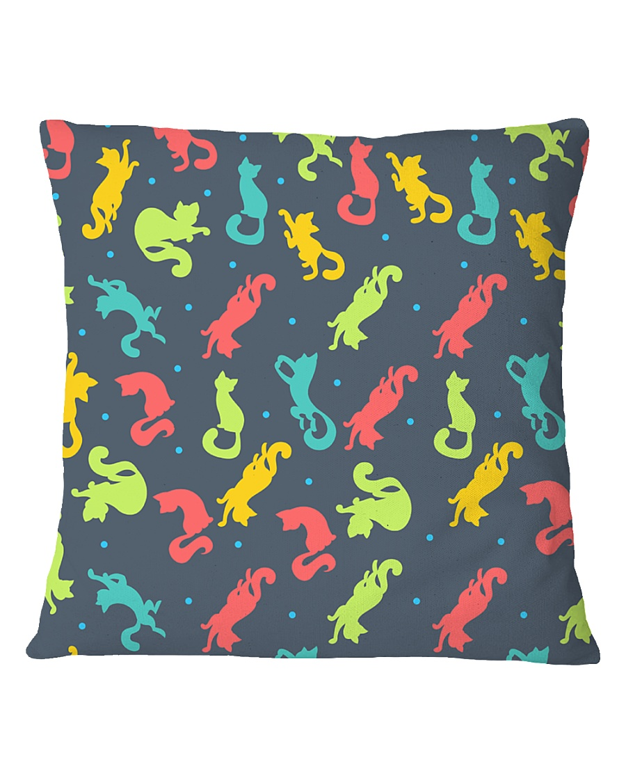 All Those Cats Square Pillowcase