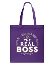 The Real Boss Tote Bag thumbnail