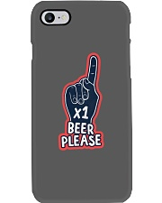 1 Beer Please Red Phone Case thumbnail