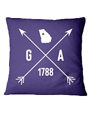 Georgia Hipster Square Pillowcase tile