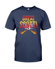 Great Scott Premium Fit Mens Tee front