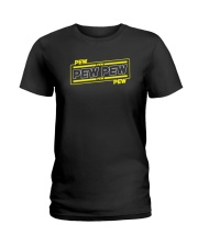 Pew Pew Ladies T-Shirt thumbnail