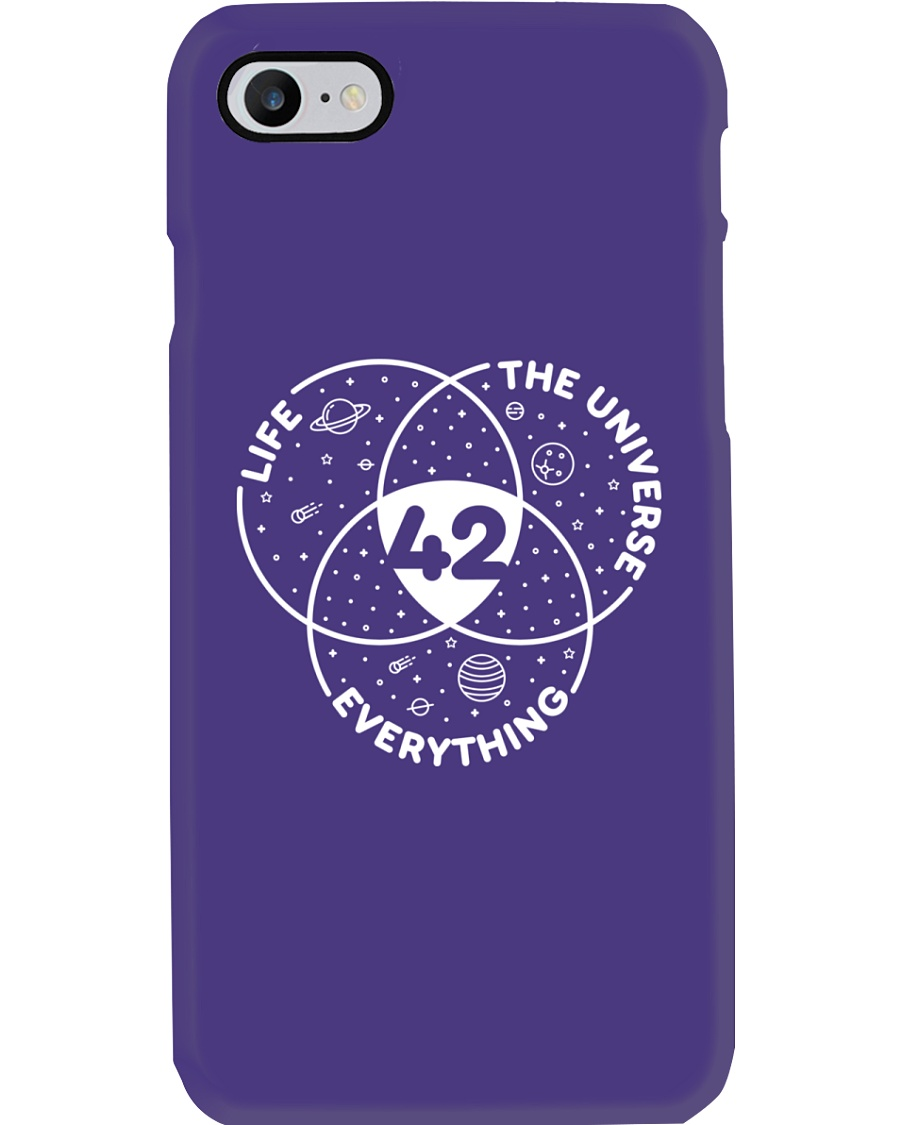 Life The Universe Everything 42 Phone Case