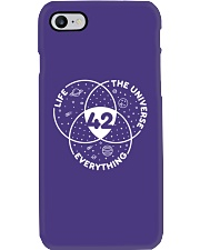 Life The Universe Everything 42 Phone Case thumbnail