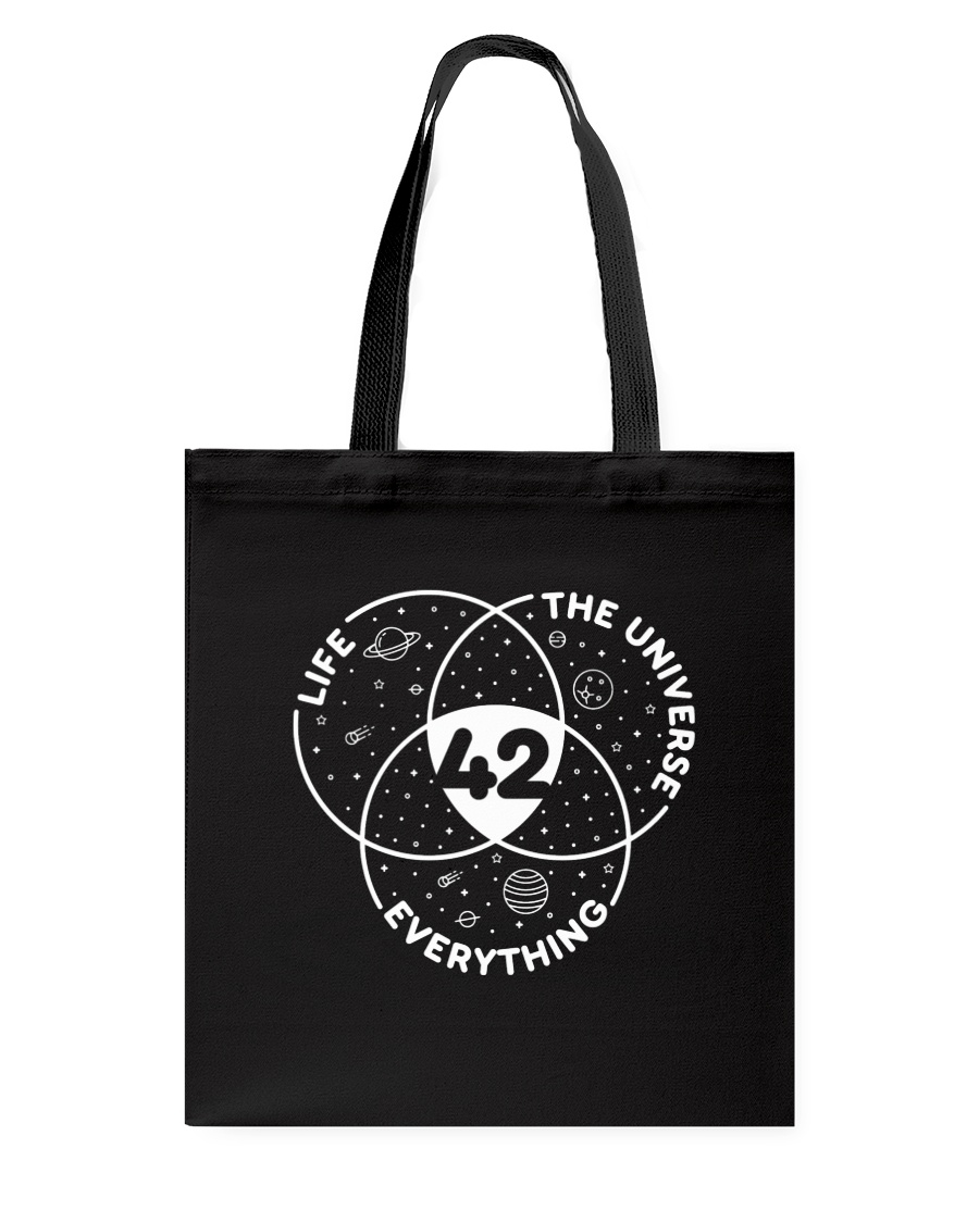 Life The Universe Everything 42 Tote Bag