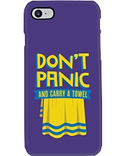 Don't Panic And Carry A Towel Phone Case thumbnail