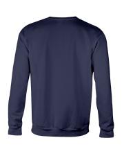 Don't Panic And Carry A Towel Crewneck Sweatshirt back