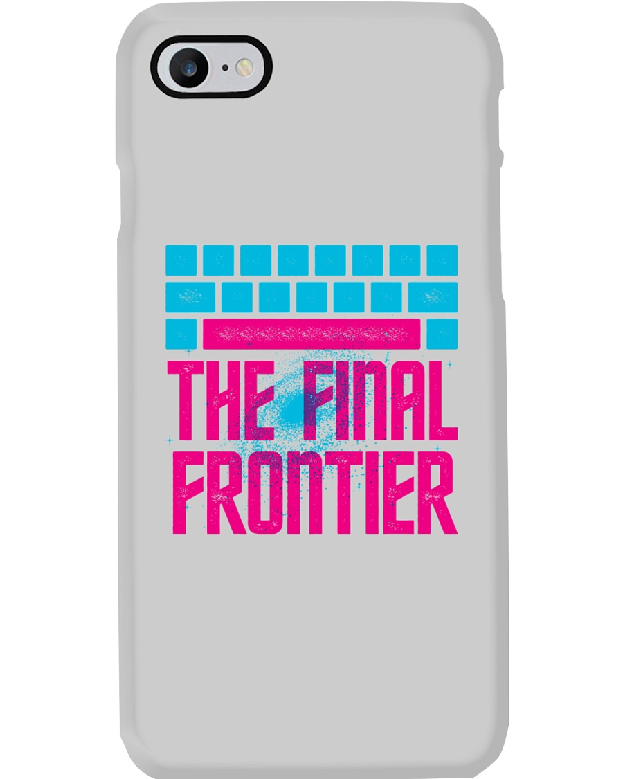 Space The Final Frontier Phone Case