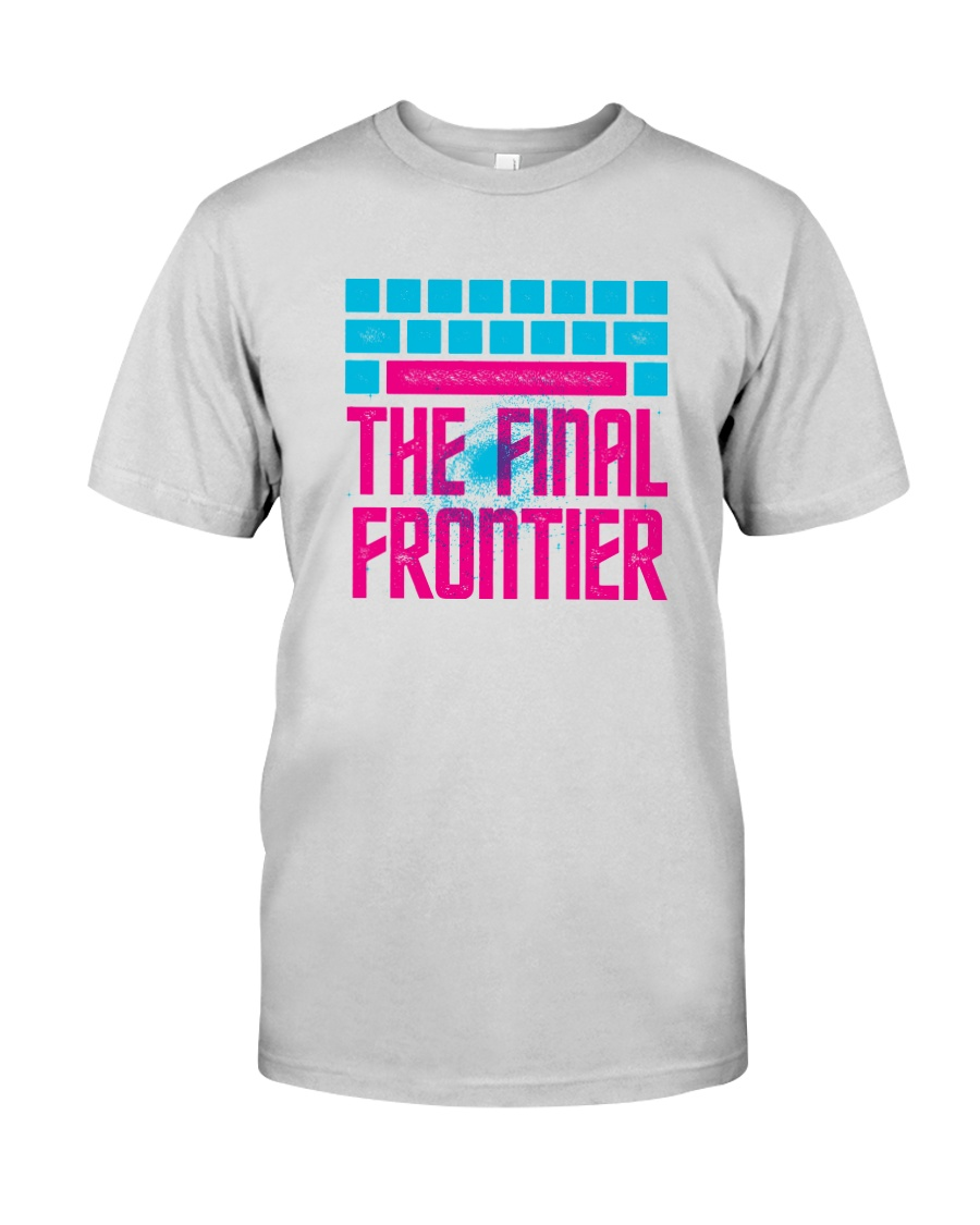 Space The Final Frontier Premium Fit Mens Tee